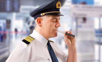 Is It Allowed to Use Vape Device and Vape Juice on the Plane.image