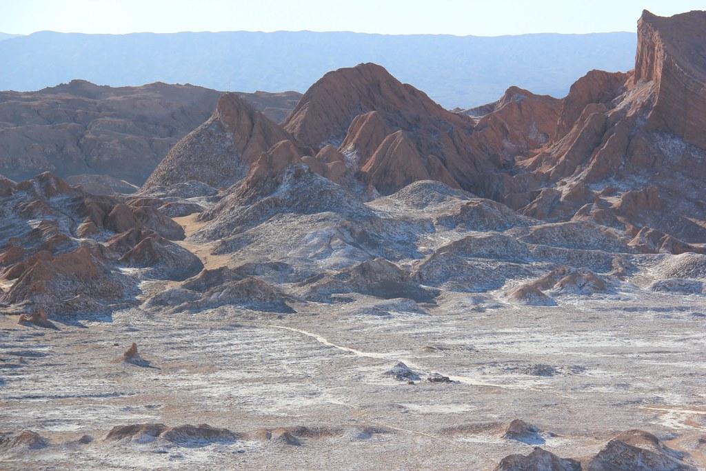 For an other-worldly landscape Valle de la Luna