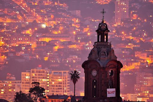 For vibrant city feelings Santiago and also Valparaiso img